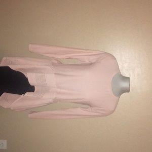 BCBG pink blouse shirt. New never worn.